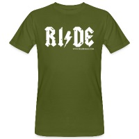 RIDE - Men's Organic T-Shirt - moss green