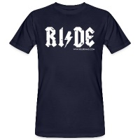 RIDE - Men's Organic T-Shirt - navy