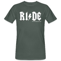 RIDE - Men's Organic T-Shirt - dark grey