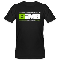 IMB Logo - Men's Organic T-Shirt - black
