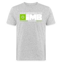 IMB Logo - Men's Organic T-Shirt - heather grey