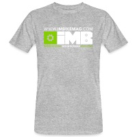IMB Logo - Men's Organic T-Shirt heather grey