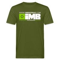 IMB Logo - Men's Organic T-Shirt moss green