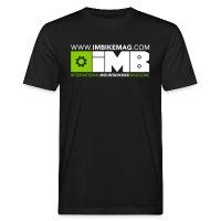 IMB Logo - Men's Organic T-Shirt - black