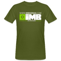 IMB Logo - Men's Organic T-Shirt - moss green