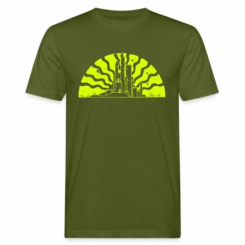 Fairytale Castle Sunrise - Männer Bio-T-Shirt