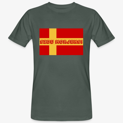 Sidu morjens! flagga - Ekologisk T-shirt herr