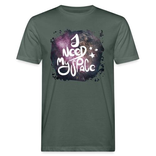 Introvert 1 i need my space - Männer Bio-T-Shirt