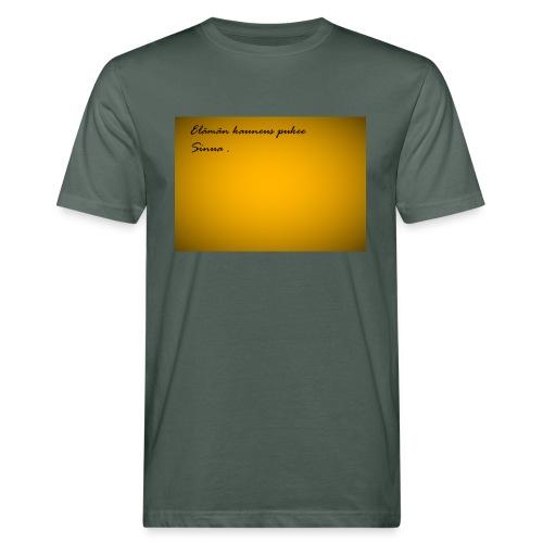 Kirje... - Miesten luonnonmukainen t-paita
