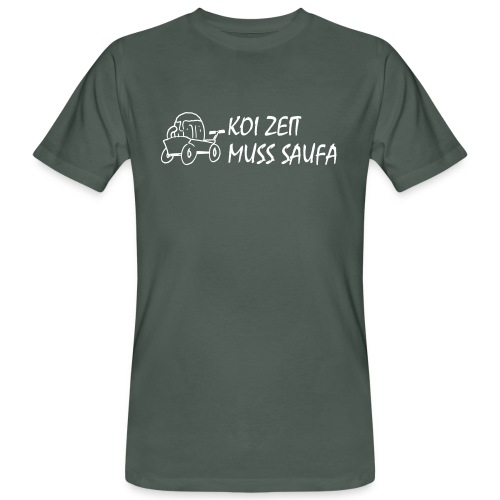 KoiZeit Saufa - Männer Bio-T-Shirt