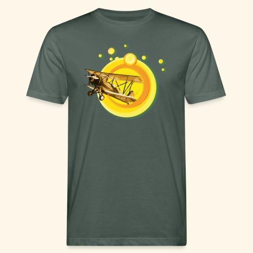 AVIÓN ANTIGUO - Camiseta ecológica hombre