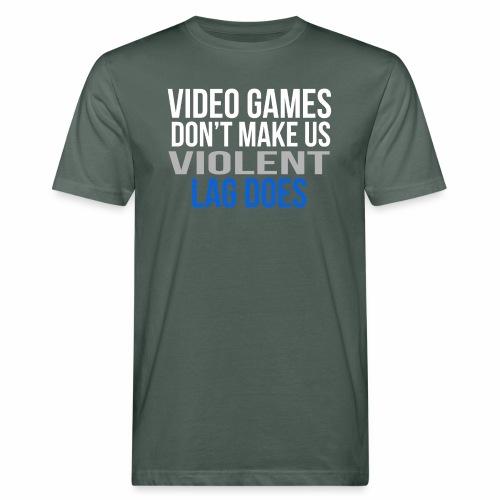 Video games - Miesten luonnonmukainen t-paita