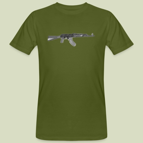 AK - Miesten luonnonmukainen t-paita