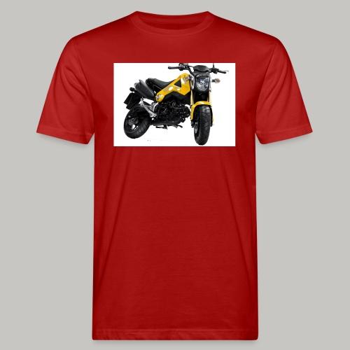 Grom Motorcycle (Monkey Bike) - Men's Organic T-Shirt