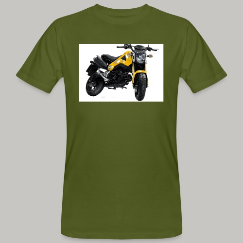Grom Motorcycle (Monkey Bike) - Men's Organic T-Shirt