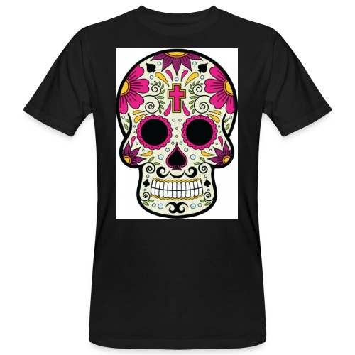 tête messico - T-shirt bio Homme