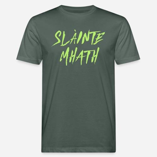 Slàinte Mhath - Schottischer Trinkspruch - Männer Bio-T-Shirt