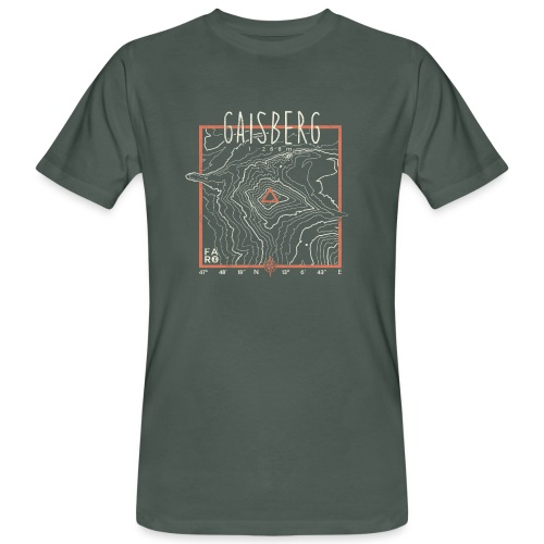 Gaisberg Countour Lines - Men's Organic T-Shirt