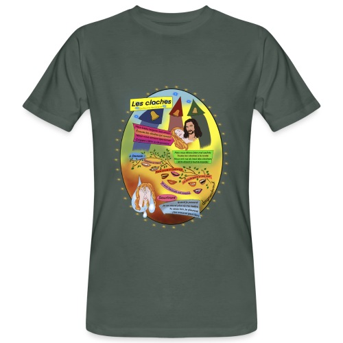 Les Cloches - Appollinaire - Männer Bio-T-Shirt