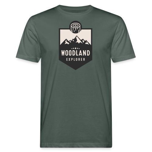 Woodland Explorer Crest - Men's Organic T-Shirt
