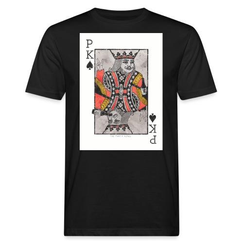 king parties and drinks - Miesten luonnonmukainen t-paita