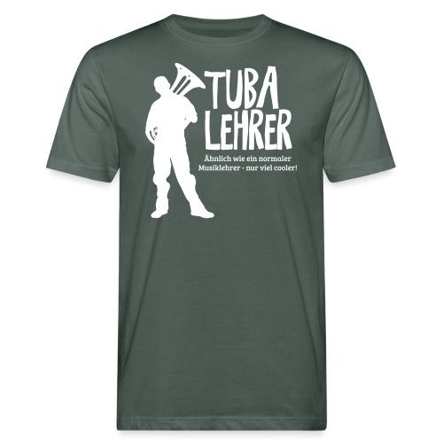 Tuba Lehrer | Tubist - Männer Bio-T-Shirt
