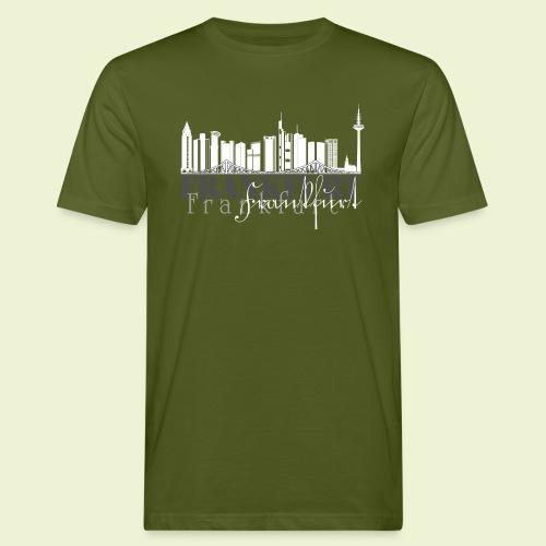 FFM - Frankfurt Skyline - Männer Bio-T-Shirt