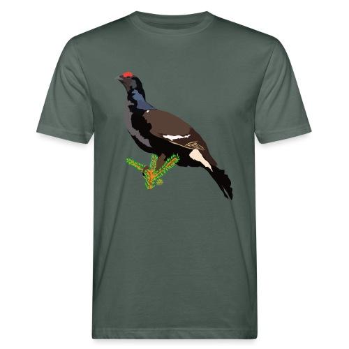 Birkhuhn - Männer Bio-T-Shirt