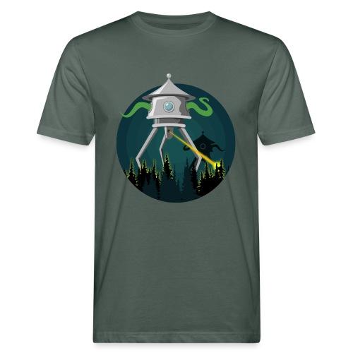 La guerra dei mondi - H. G. Wells - T-shirt ecologica da uomo