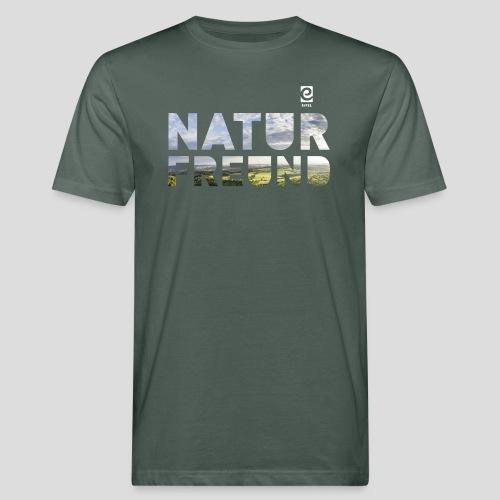 Naturfreund - weiß - Männer Bio-T-Shirt