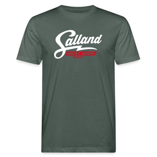 Batzer Salland Rockt Hard - Mannen Bio-T-shirt