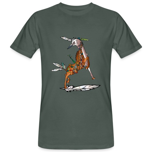 Energiewesen Vagio - Männer Bio-T-Shirt