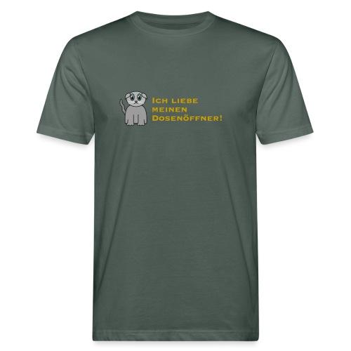 Süßes Kätzchen - Männer Bio-T-Shirt