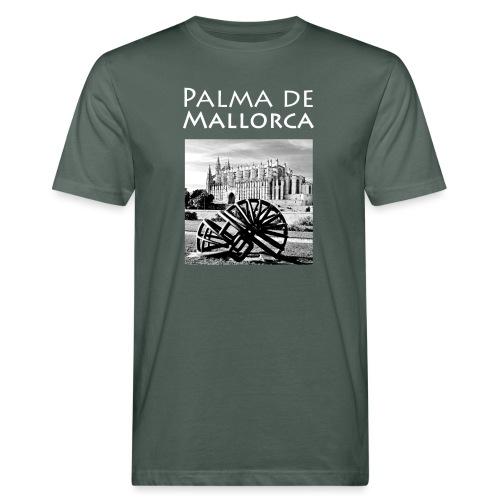 Palma de Mallorca mit Cathedrale Heiligen Maria - Männer Bio-T-Shirt