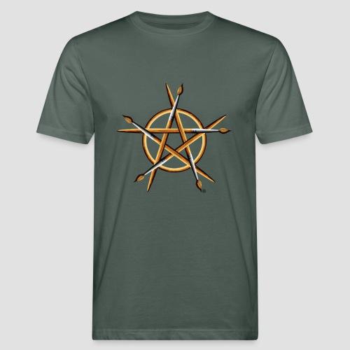 PAGAN PAINTER - Men's Organic T-Shirt