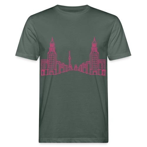 Frankfurter Tor Berlin - Männer Bio-T-Shirt
