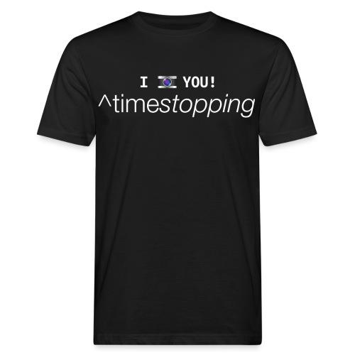 I (photo) you! - Men's Organic T-Shirt