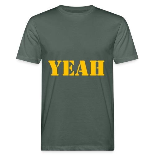 yeah shirt - Männer Bio-T-Shirt
