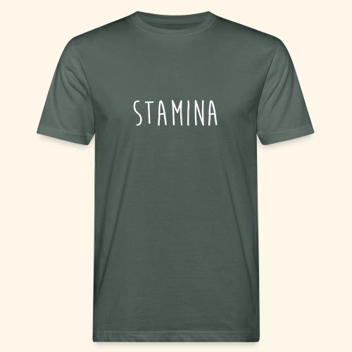 STAMINA - T-shirt bio Homme