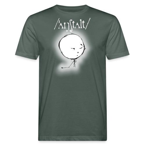 kreisling mit logo (weiß) - Männer Bio-T-Shirt