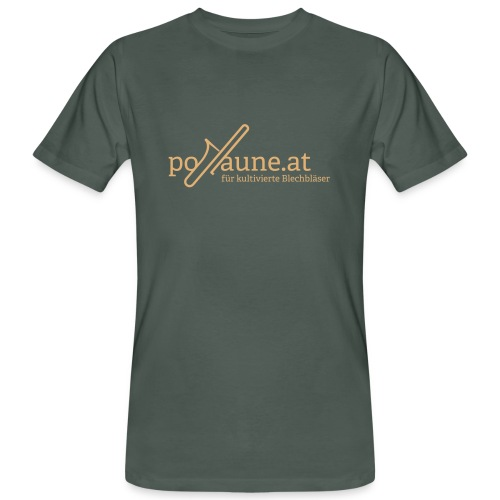 posaune at Logo 2014 - Männer Bio-T-Shirt