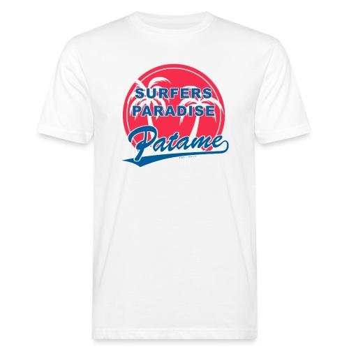 Patame Surfers Paradise RedWhite - Männer Bio-T-Shirt