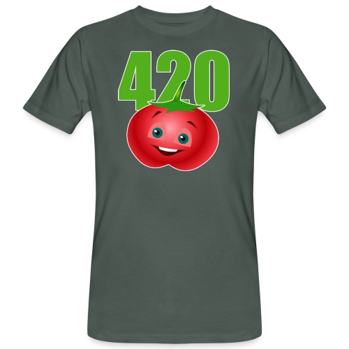 Tomate 420 - Männer Bio-T-Shirt