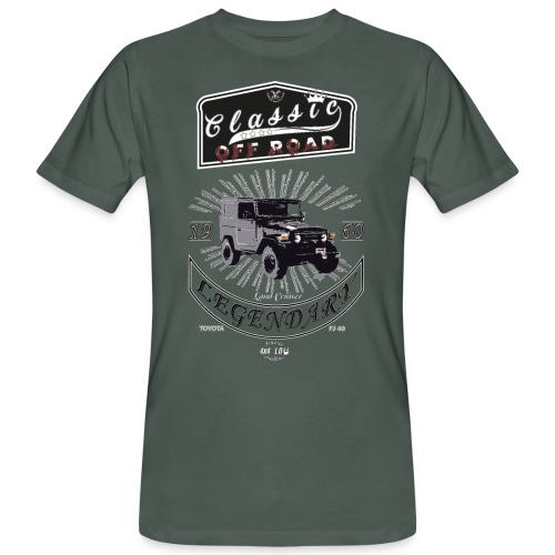Classics Off Road FJ40 1960 - Camiseta ecológica hombre