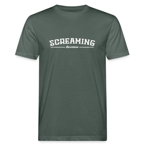 SCREAMING - Camiseta ecológica hombre