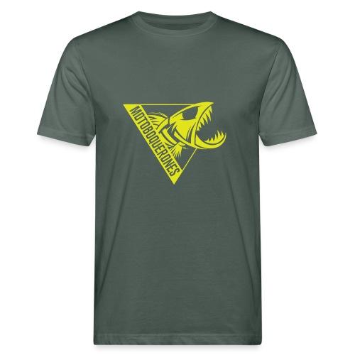 Logo Motoboquerones amarillo - Camiseta ecológica hombre