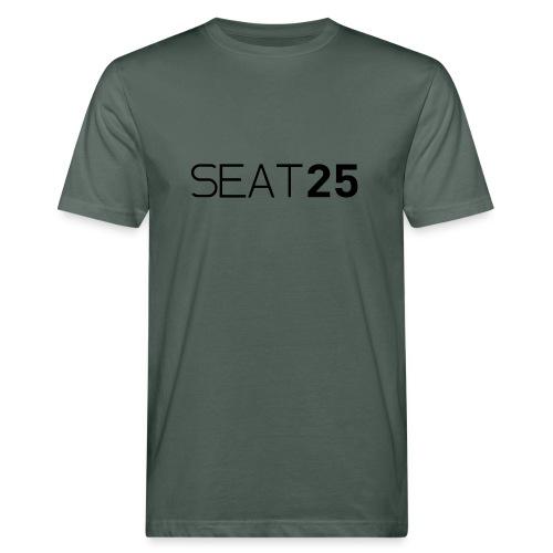 Seat25 Logo Dark - Men's Organic T-Shirt