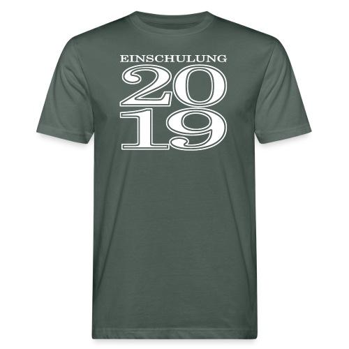 Einschulung 2019 - Männer Bio-T-Shirt