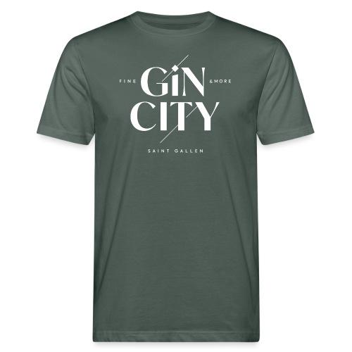 Gin City Saint Gallen - Männer Bio-T-Shirt
