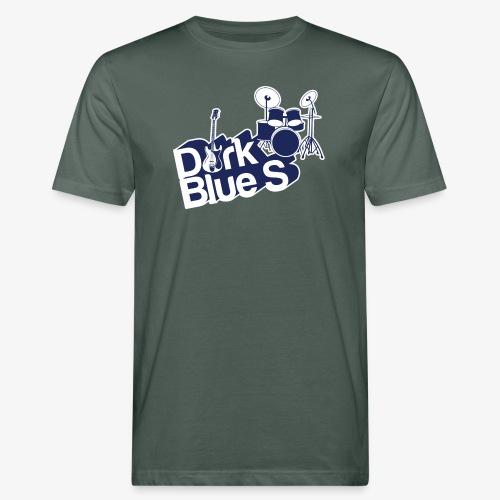 DarkBlueS outline gif - Men's Organic T-Shirt